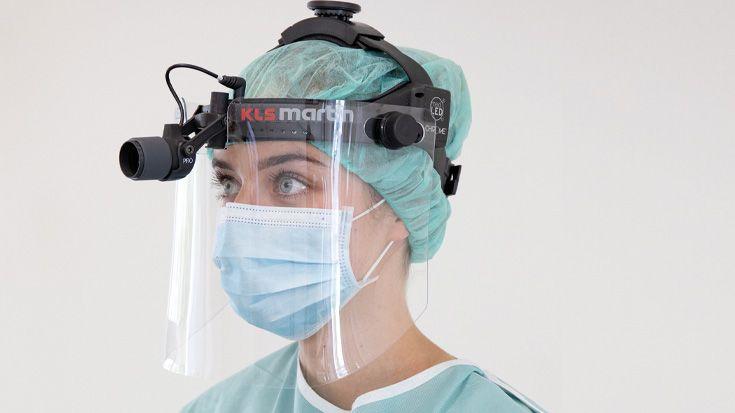 MedLED® Face Shield | Wiederverwendbarer Gesichtsschutz