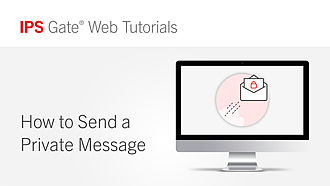 How to Send a Private Message | IPS Gate® Tutorial #11