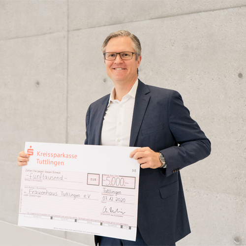 News | KLS Martin Group donates 5,000 Euros to women's shelter in Tuttlingen