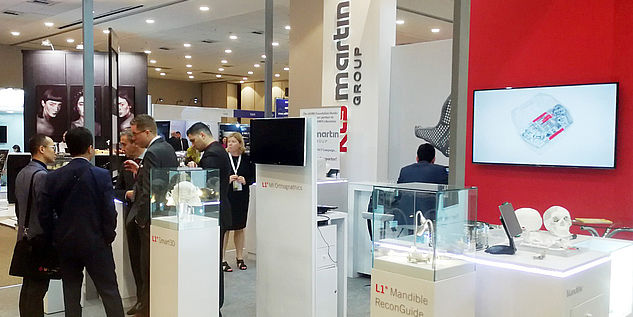 Booth at the ICOMS 2019