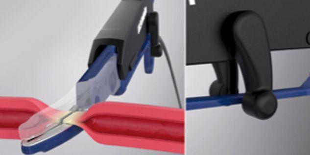 Sellado de vasos marClamp® Cut IQ - Sellado del tejido