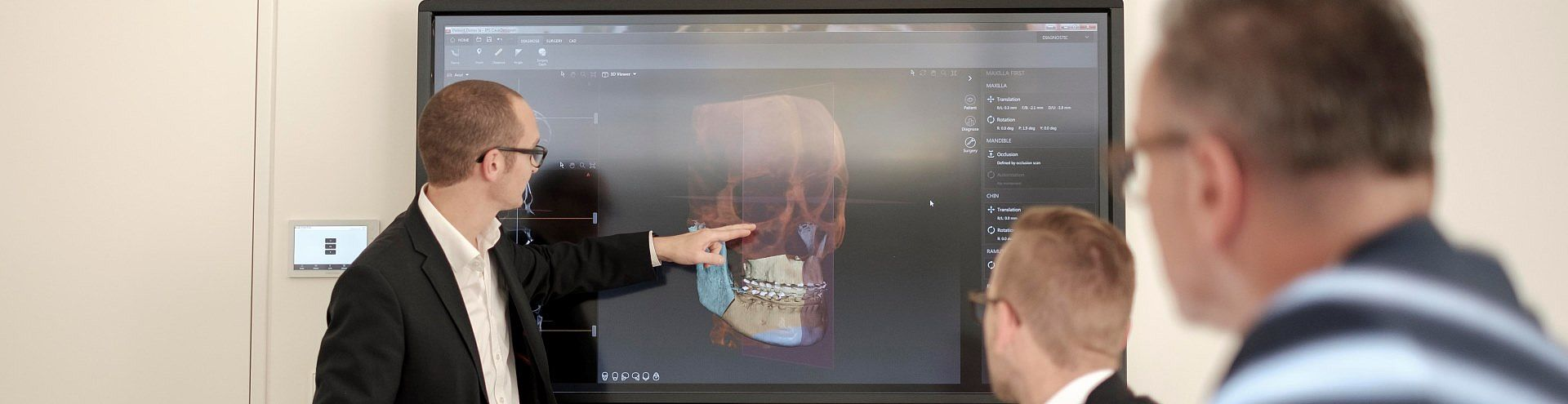 3D Virtual Planning and Minimally Invasive Orthognathic Surgery Training Concept