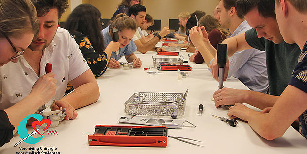 20 Studenten bei unserem Workshop zur Unterkieferrekonstruktion