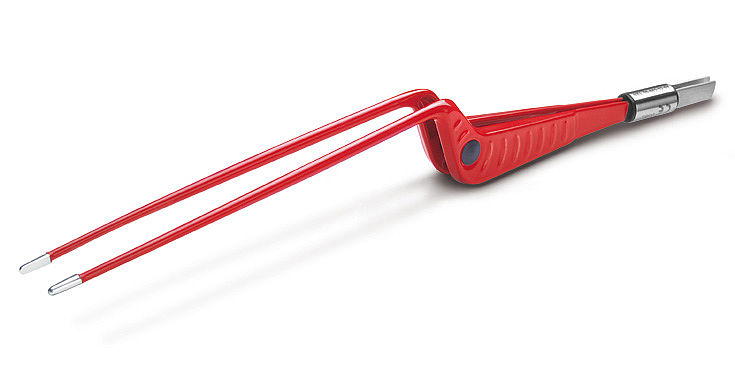 Electrosurgery - accessories bipolar nonStick red