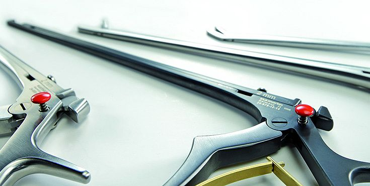 Instrumentos quirúrgicos para neurocirugía