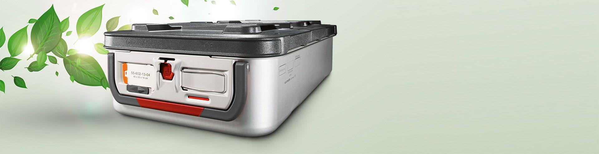 Sterilization container - system microStop gogreen
