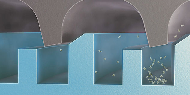 Sterilization container - system microStop sterile 3