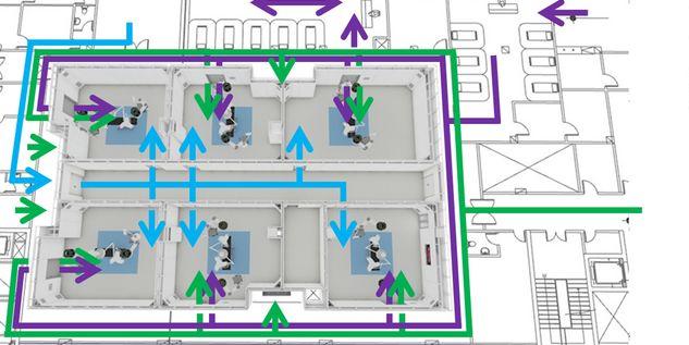 3D visualization modular OR