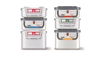 Lösungen für die AEMP | Sterilisationscontainer und Zubehör der KLS Martin Group