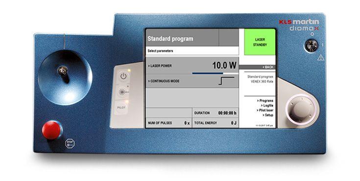 Neurosurgery - Diode laser diomax standard program
