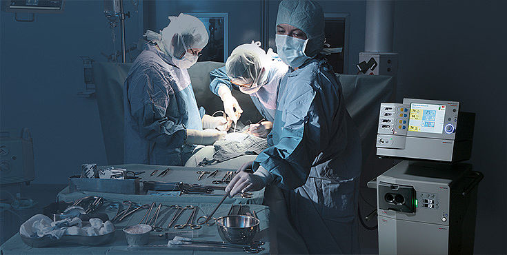 Hochfrequenzchirurgie-Geräte