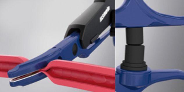 Sellado de vasos marClamp® Cut IQ - Activación automática
