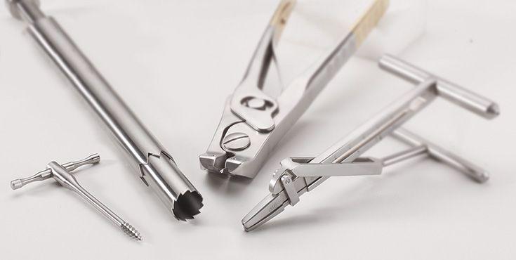 Chirurgische Instrumente für die Traumatologie