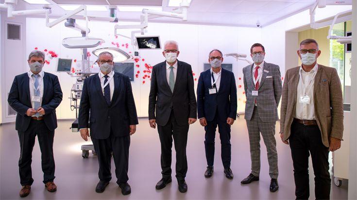 Gruppenbild Besuch Ministerpräsident Winfried Kretschmann