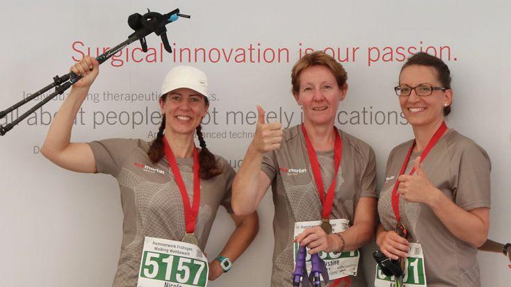 Aesculap Halbmarathon und Hammerwerk Fridingen Walking