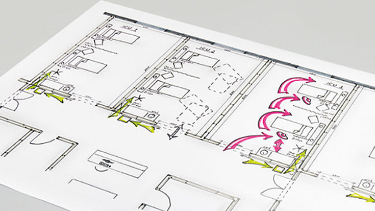 Individual room solutions planning