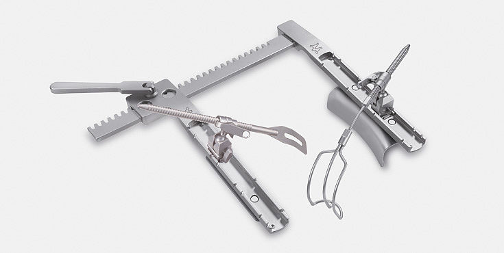 Surgical instruments - Cardio - Instruments marGate retractors