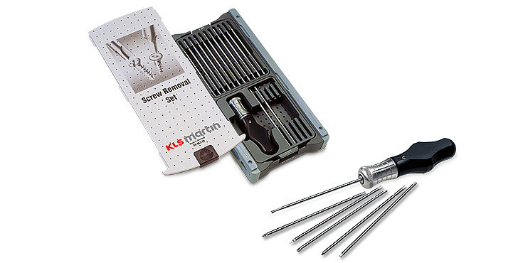 Surgical instruments - CMF - Screw removal set