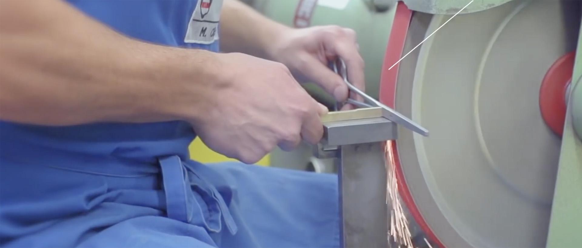 Fabricación de un instrumento quirúrgico