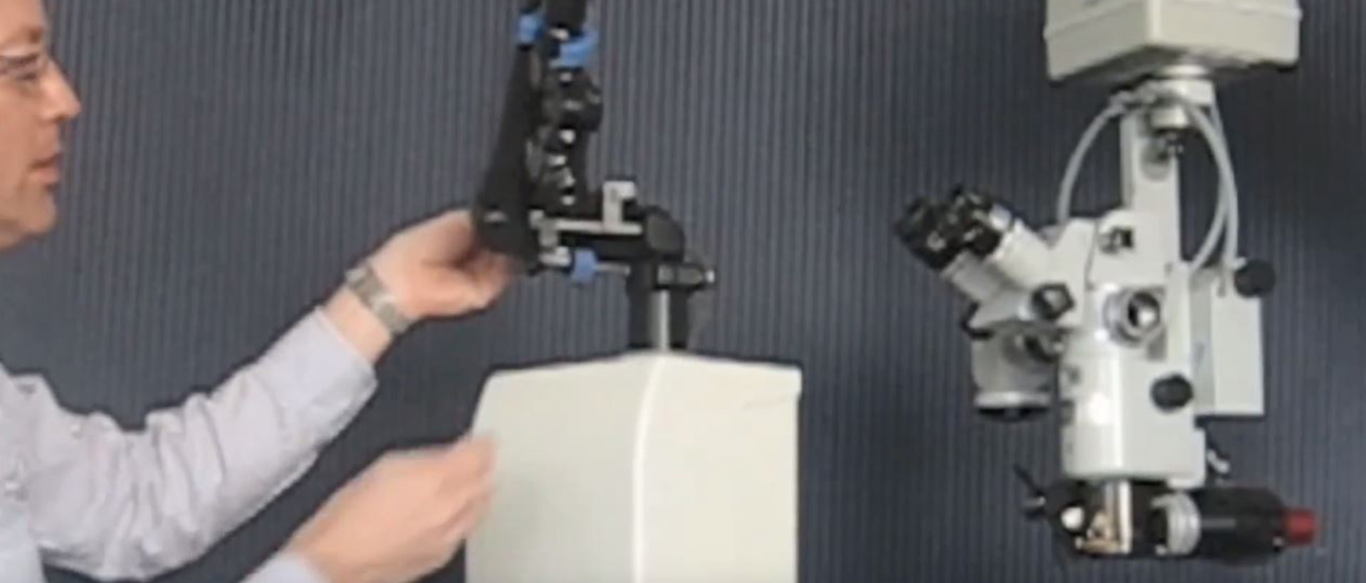 Surgical Laser Systems - micromanipulators video